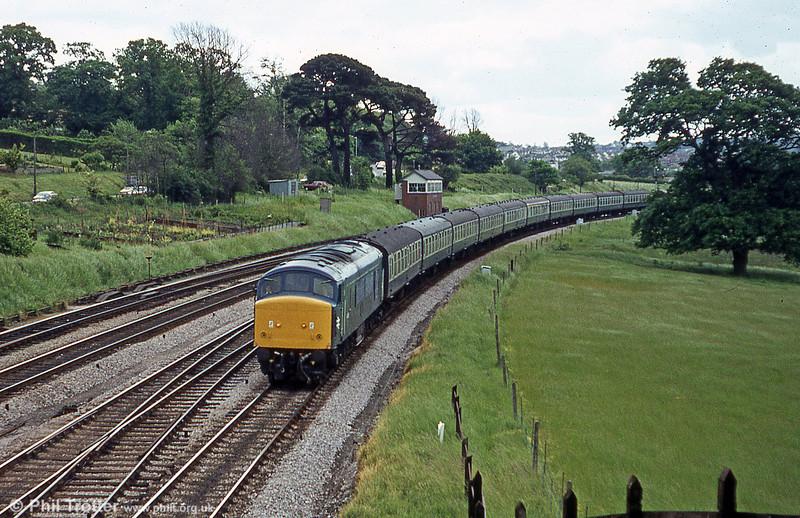 Aller Junction, c.1981.