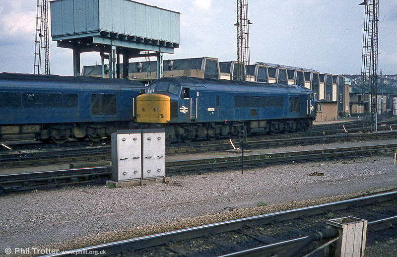 46028 at Bristol Bath Road on 19th April 1981.