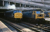 45101 and 47533 at Birmingham New Street on 2nd February 1980.
