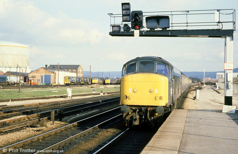 46047 at Gloucester on 22nd March 1980.