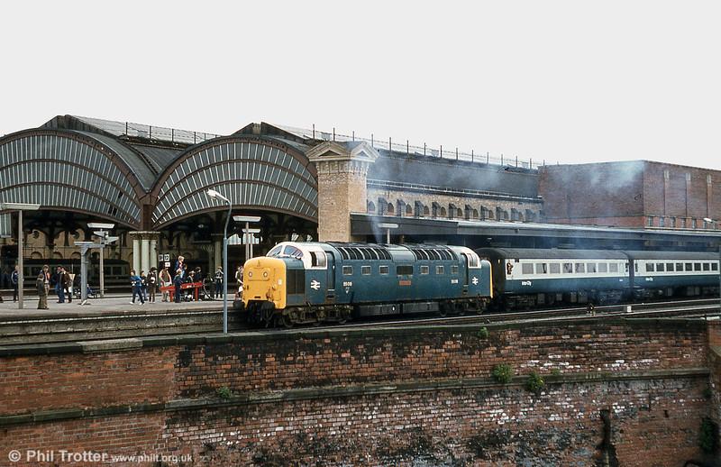 55018 'Ballymoss' at York in 1982.