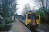 150270 waits to depart from Coryton with a service for Barry Island in April 1989.
