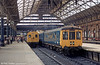 Gloucester RCW class 100 dmu at Manchester Piccadilly.