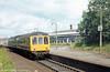 A Bidston to Wrexham Central service calls at Wrexham Exchange.
