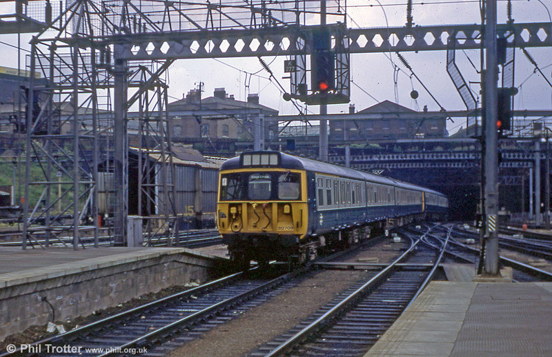 312709 arrives at London Kings Cross on 18th July 1979.