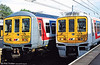 Network Southeast 319059 and 319166 at Bedford, ready to depart for Sevenoaks and Brighton.