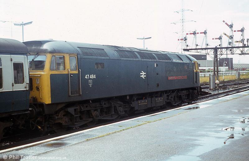47484 'Isambard Kingdom Brunel' departs from Southampton.