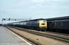 A class 47 passing Swindon. Loco unknown.