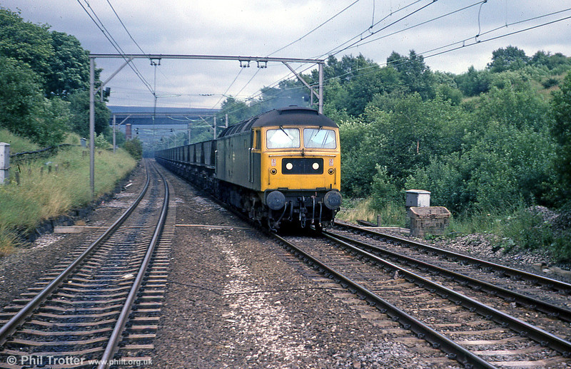 47227 at Hattersley on 19th July 1979.
