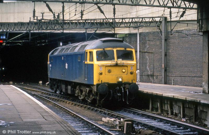 47519 at Birmingham New Street in July 1984.