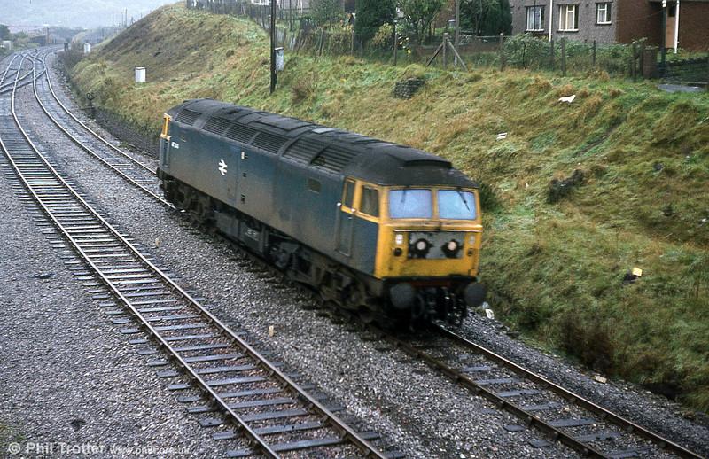 47314 at Swansea Loop West, Landore.