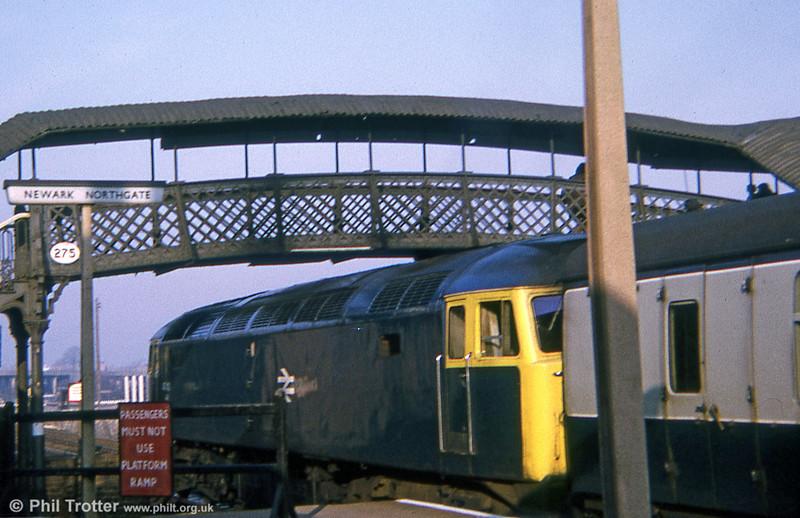 47421 waits at Newark Northgate on 16th November 1974.