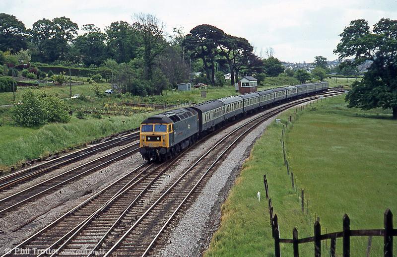 47078 'Sir Daniel Gooch' at Aller Junction, 1979.
