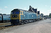 47031 stabled in the yard at Hereford.