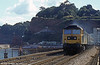 Passing Dawlish. Loco unknown.