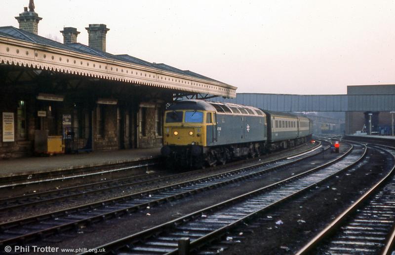 47548 calls at Sheffield on 12th January 1980.