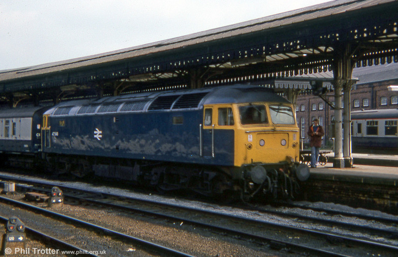47549 at York during 1978.