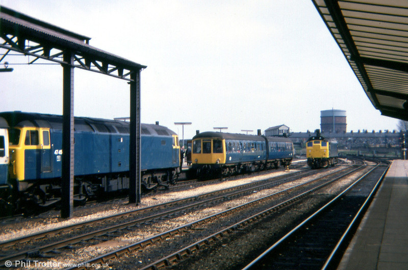 A busy scene at Chester in 1979.