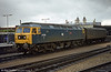 47513 'Severn' shunts at Bristol Temple Meads.