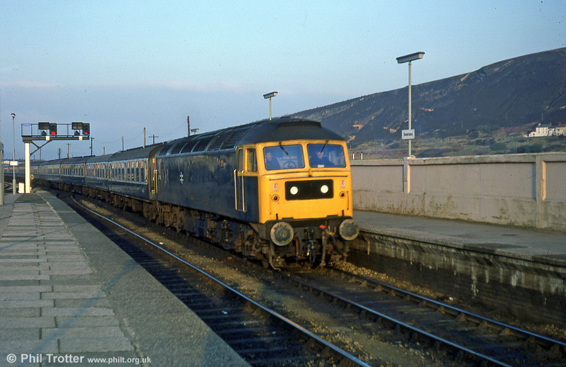 47478 arrives at Swansea with a London Paddington to Swansea relief on 22nd December 1979.