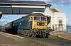 47342 pauses at Dawlish c.1979.