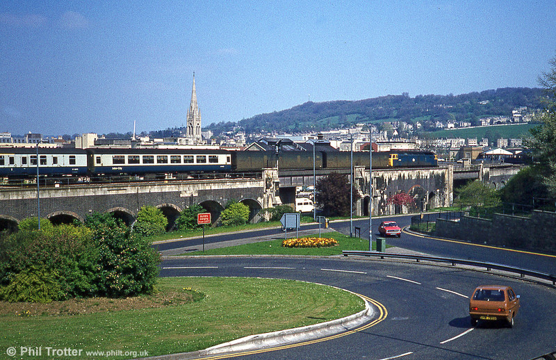 Bath, 17th April 1981. Loco unknown.