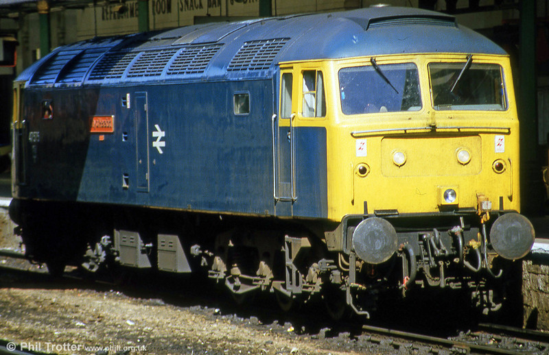 47575 'City of Hereford' at Exeter St. Davids in August 1985.