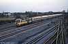 London-bound HST at Severn Tunnel Junction in April 1986.