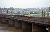 253027 crossing the River Usk at Newport.