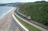 A Paddington-bound set on the sea wall at Dawlish Warren.