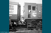 Detail for modellers! Class 08 no. D3804 acting as station pilot at Swansea High Street in the early 1970s. Later to become 08637, this loco was eventually transferred to Aberdeen and cut up at MC Metals, Glasgow in March 1993.