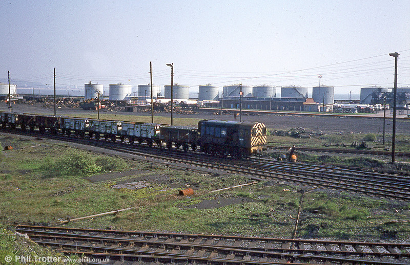 Burrows Yard, Swansea 14th April 1981.