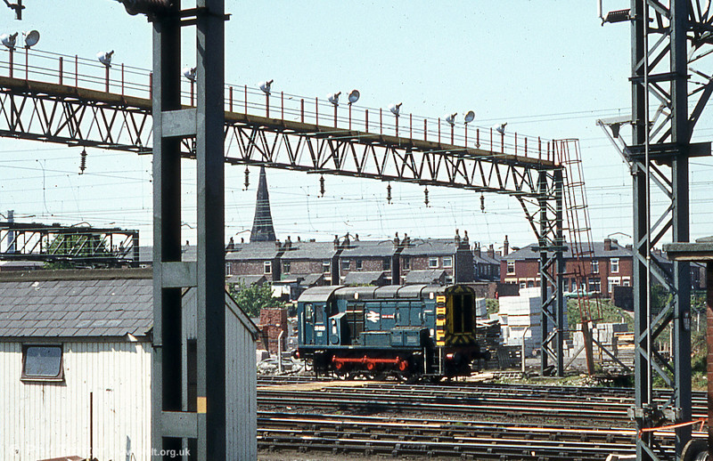 Named 08820 'Guide Bridge' at Stockport on 17th May 1980.