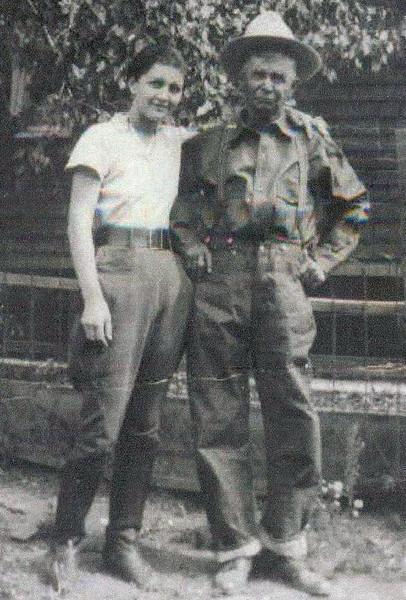 Bessie and her dad, Jake.