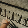 Marvel found Bramwell graves in the 1st section of the Indianapolis, Indiana cemetry in 1996.  The center marker is about 20-25 feet tall.  and you can see the size of the letters.