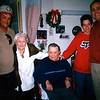 Travis, Virginia, Floyd, Travis's Shawn, and Darren (Big D) Dec 2002.  The boys are related to Virginia through Carla's father-Guinn Kinser, and Floyd through Carla's mother-Lois Bramwell-Kinser.