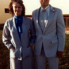 Carla with son, Darren before his prom in Bozeman, Montana 1985.