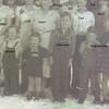 Children in front - left to right: Leonard Kinser, Joan Turner, Little Lynn Bramwell, two Kinsley kids raised by Beryl. (Photo owned by Opel Bramwell-Turner, taken by Opel Bramwell-Turner. Family members identified by Opel Bramwell-Turner & Beverly Turner-Leas.)