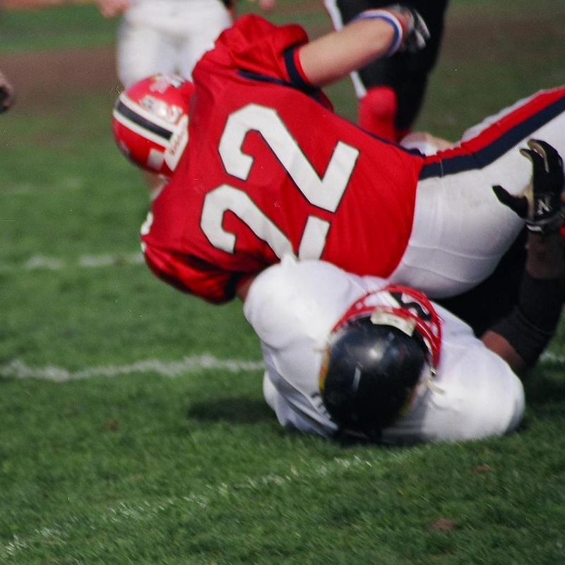 WAY TO BE 22...if you can't tackle him...THEN YES .. YOU CAN SIT ON HIM !!