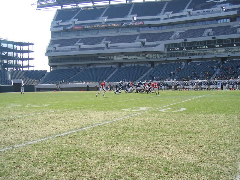Playing Like Pro's ..on a Pro Field ...