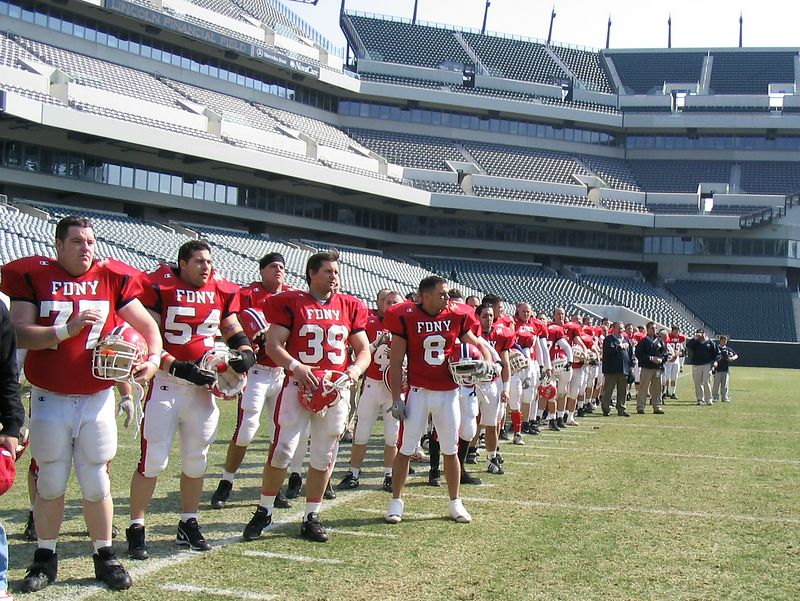 Waiting On The Field in Philadelphia
