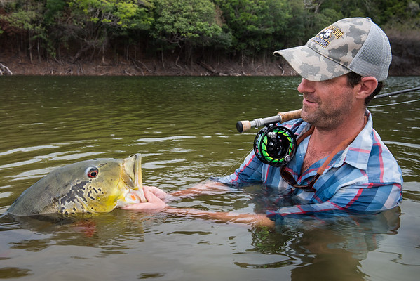 """Fly fishing the Amazon and Jufari River - Brazil. Fishing with River Plate Outfitters and Yellow Dog Flyfishing Adventures. © Jim Klug Outdoor Photography ( <a href=""""http://www.klugphotos.com"""">http://www.klugphotos.com</a>)"""