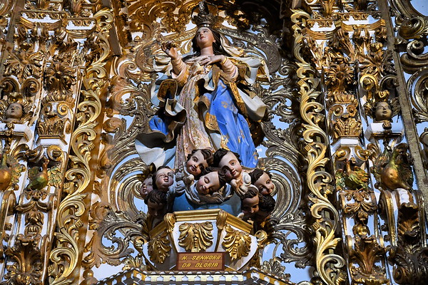 Historic Catholic Churches of Salvador, Brazil.