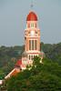 St John's in Lafayette Louisiana just after sunrise.