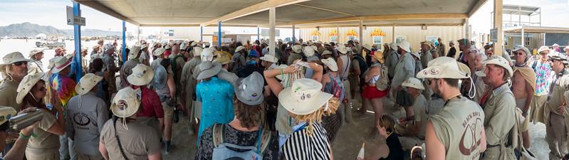 Rangers at Burning Man 2015