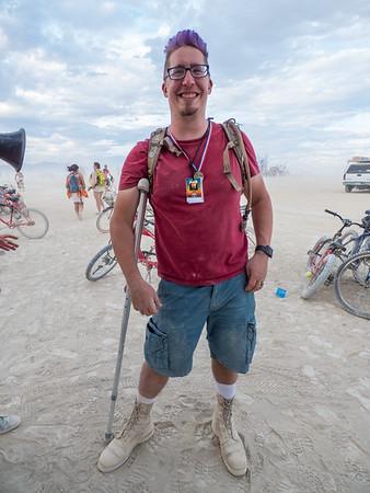 Rangers at Burning Man 2016