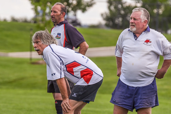 July 23, 2016, Boulder, Colorado, USA; The Boulder Old Boys, of the Boulder Rugby Club, vs the Denver Highlander Old Boys during their game at the 50th Anniversary Celebration of the Boulder Rugby Club.