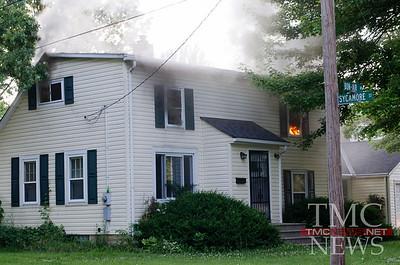 BON-AIR HOUSE FIRE - Photos by BRIAN WOODS