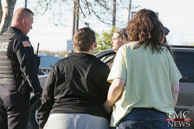 DRIVER ARRESTED FOR THREATS AFTER CRASH – TMCNEWS.NET