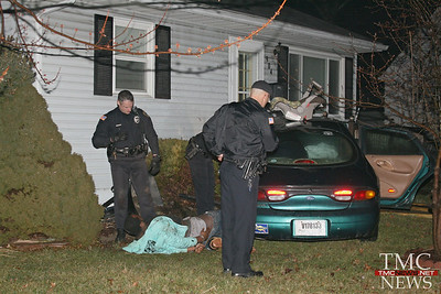 DRIVER CRASHES INTO HOUSE ON CLARK